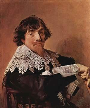 Frans Hals - Portrait of a man, possibly Nicolaes Hasselaer