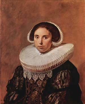 Frans Hals - Portrait of a woman, possibly Sara Wolphaerts van Diemen