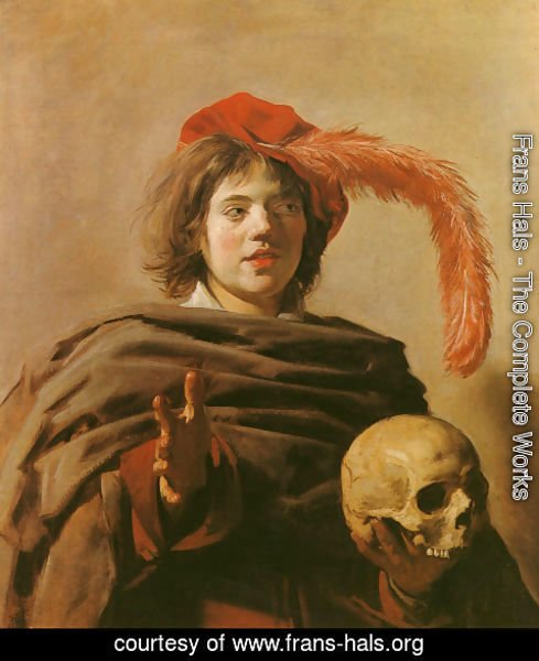 Frans Hals - Boy with a Skull