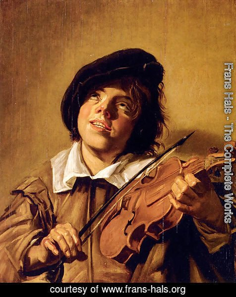 Frans Hals - Boy Playing A Violin