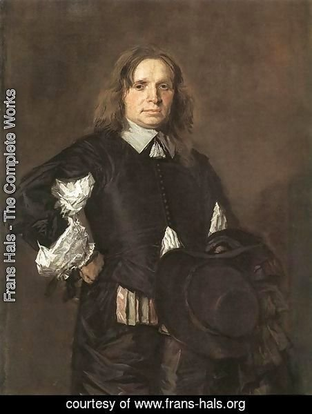 Frans Hals - Portrait of a Man I