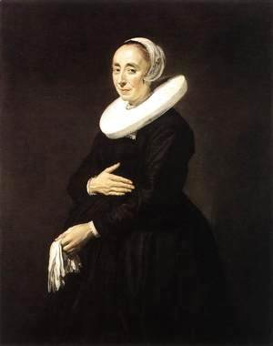 Frans Hals - Portrait of a Woman II