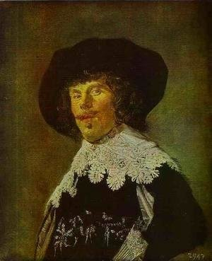 Frans Hals - Young Man in Black Coat