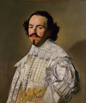Frans Hals - Gentleman in White