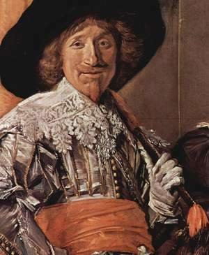 Frans Hals - Company of Captain Reinier Reael, known as the 'Meagre Company' (detail 5)