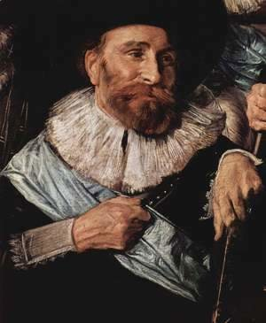 Frans Hals - Company of Captain Reinier Reael, known as the 'Meagre Company' (detail 6)