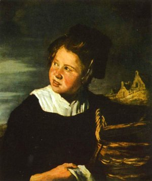 Frans Hals - Fishermen girls