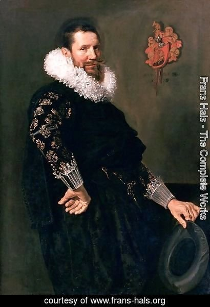 Frans Hals - Paul Beresteyn, judge at Haarlem