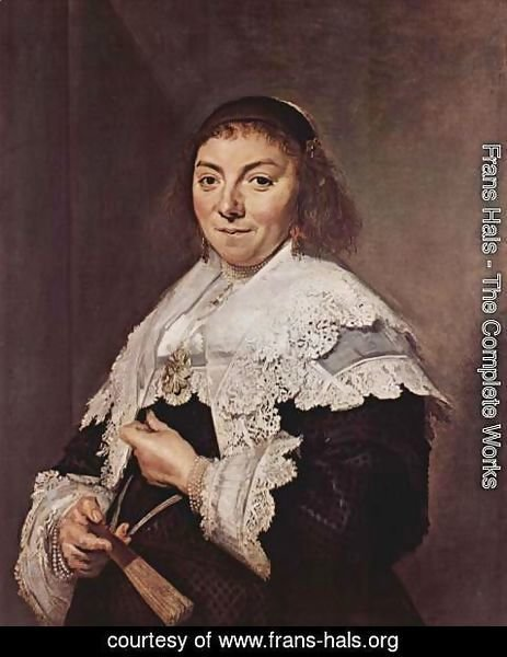 Frans Hals - Portrait of Mary Pietersdr