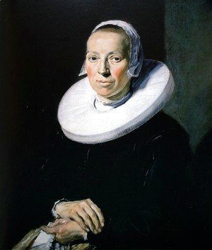 Frans Hals - Portrait of a Woman 1