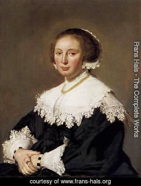 Frans Hals - Portrait of a Woman 2