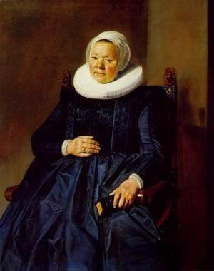 Frans Hals - Portrait of a Woman 9