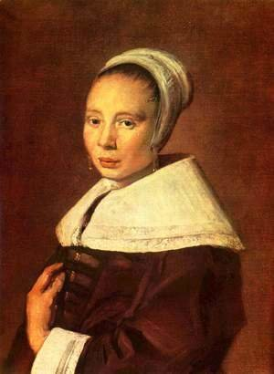 Frans Hals - Portrait of a Young Woman
