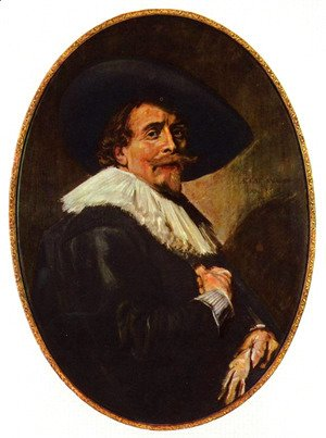 Frans Hals - Portrait of a gentlemen