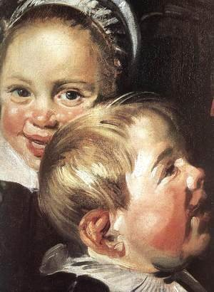 Frans Hals - The Rommel Pot Player (detail)