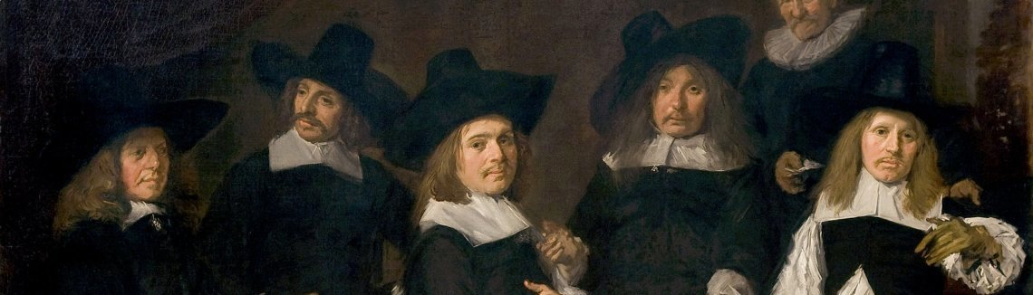Frans Hals - Regents of the Old Men's Almshouse