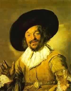 Frans Hals - A Young Man With A Glove 1650