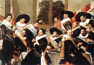 Frans Hals - Banquet Of The Officers Of The St George Civic Guard