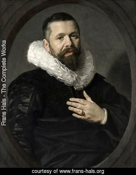 Portrait of a Bearded Man with a Ruff 1625