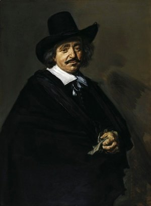 Frans Hals - Portrait of a Man 1650 1652