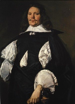 Frans Hals - Portrait of a Man 1660 2