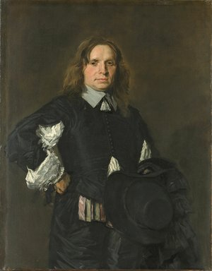 Frans Hals - Portrait of a Man early 1650s