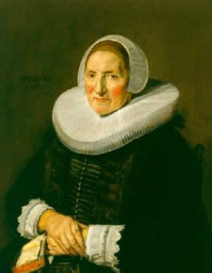 Frans Hals - Portrait of an Elderly Woman 1650