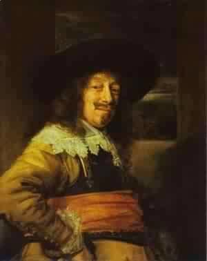 Frans Hals - Portrait Of Young Man 1645