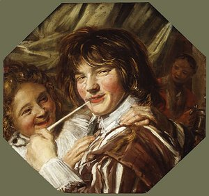 Frans Hals - The Smoker ca 1623