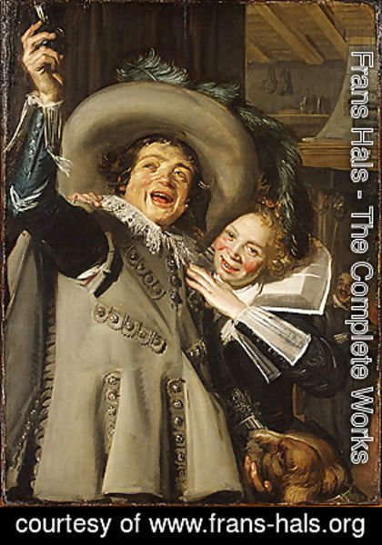 Frans Hals - Young Man and Woman in an Inn