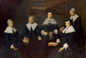Frans Hals - Regents of the St Elizabeth Hospital of Haarlem