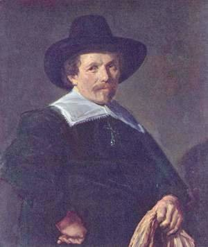 Frans Hals - Portrait of a man with gloves