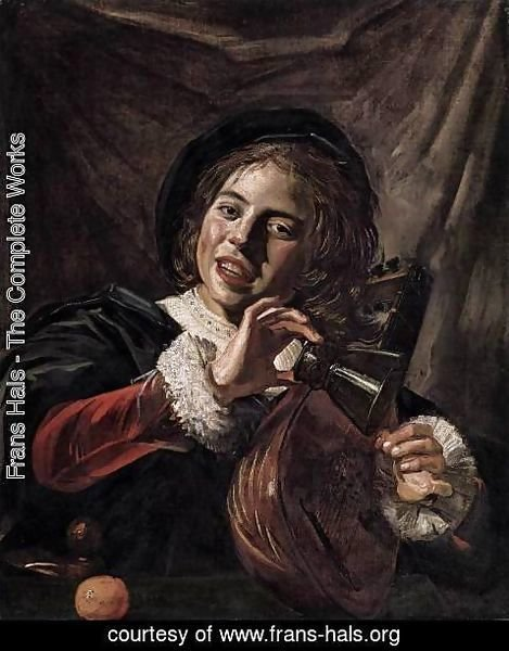 Frans Hals - Boy with a Lute