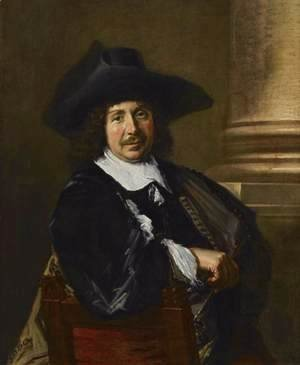 Frans Hals - Portrait of a Painter