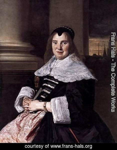 Frans Hals - Portrait of a Woman 5