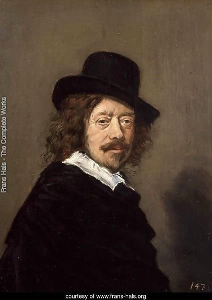 Portrait of Frans Hals
