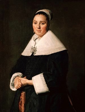 Frans Hals - Portrait of a woman 6