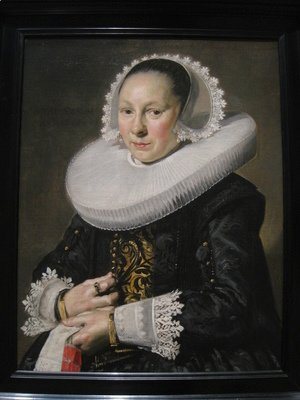 Frans Hals - Portrait of a Woman 8