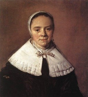 Frans Hals - Portrait of a Young Woman 2