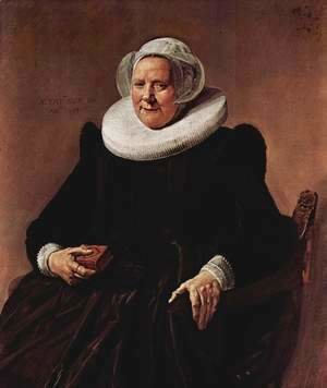Frans Hals - Portrait of a woman 10