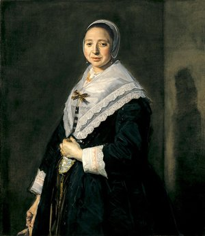 Frans Hals - Portrait of a woman 11