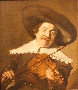 Frans Hals - Daniel van Aken Playing the Violin