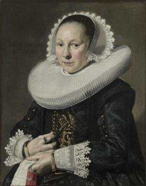 Frans Hals - Portrait of a woman 12