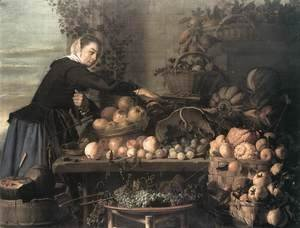 Frans Hals - Fruit and Vegetable Seller