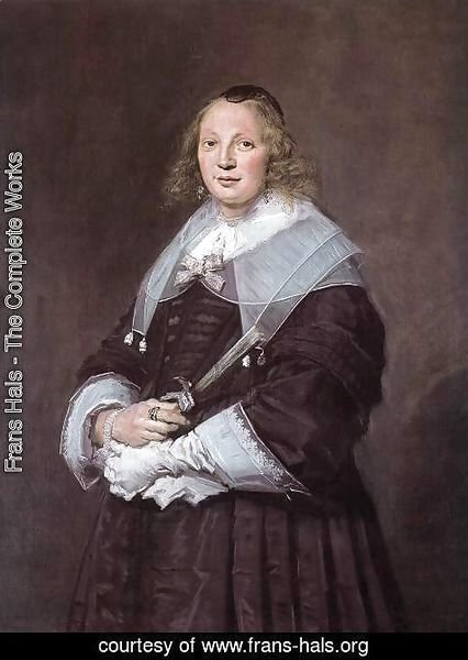 Frans Hals - A Dutch Lady