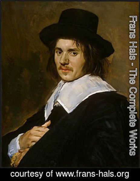 Frans Hals - Portrait of a man 8