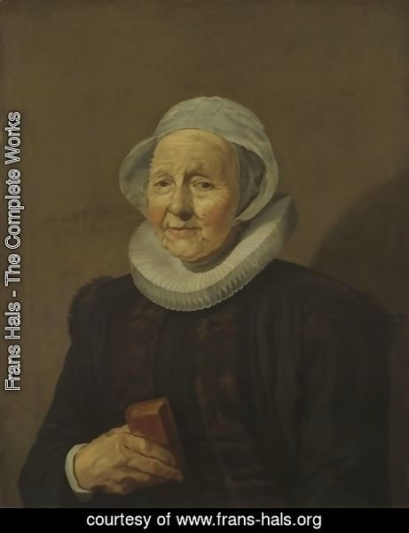 Frans Hals - An Old Lady