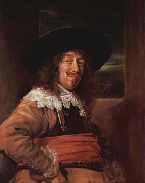 Frans Hals - Portrait of a Member of the Haarlem Civic Guard
