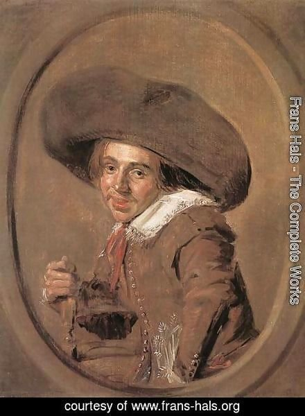 Frans Hals - A Young Man in a Large Hat 1628-30