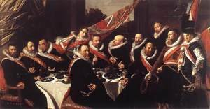 Banquet of the Officers of the St George Civic Guard  1616